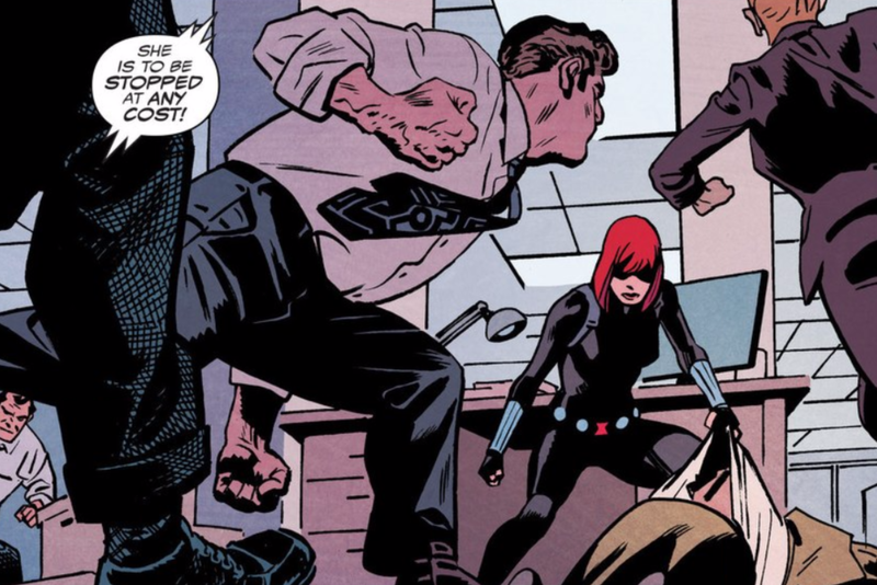 Illustration for article titled The New Black Widow Comic Is a Master Class in Kicking Ass