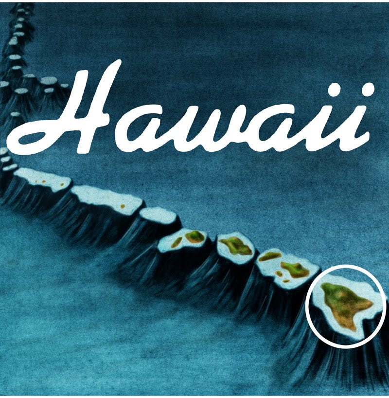 Illustration for article titled The geological history and future of Hawaii in a lush webcomic