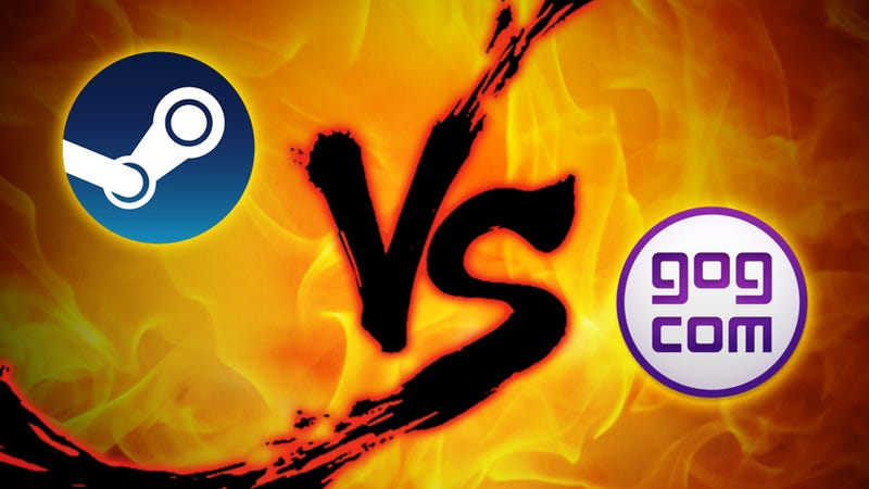 Illustration for article titled Gaming Store Showdown: Steam vs. GOG Galaxy