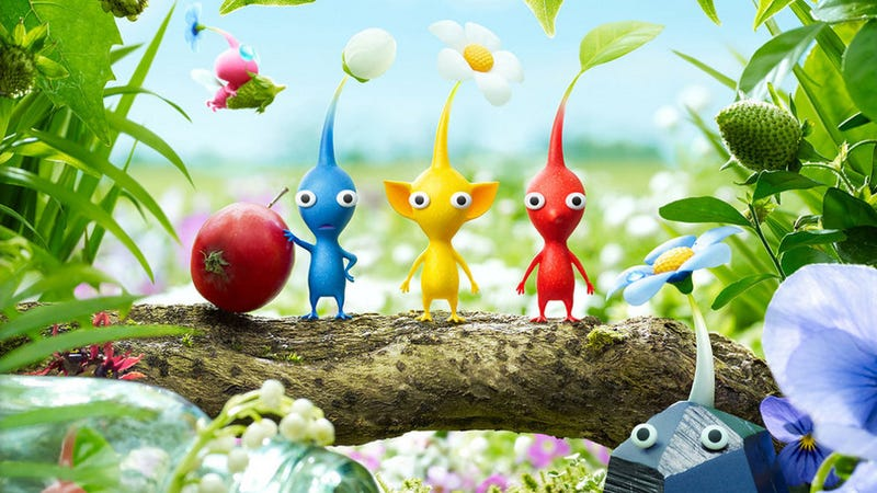 Illustration for article titled Pikmin Are Infiltrating Nintendo's E3 Booth