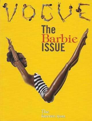 Illustration for article titled Black Barbies Are All Dolled Up In July's Italian Vogue