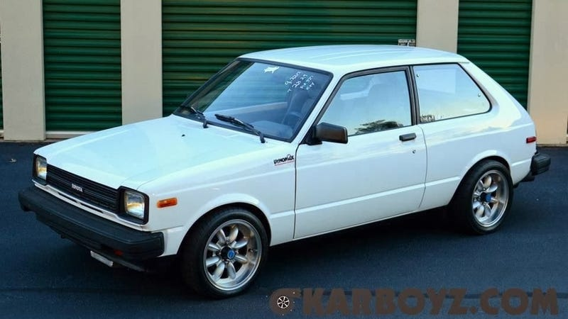 Life Is Good In A Turbo 13B Rotary Powered Toyota Starlet