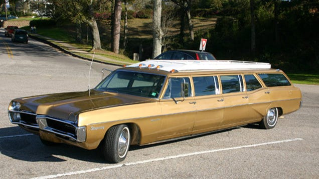 Massive Stretched Pontiac Station Wagon Is A Unique Head