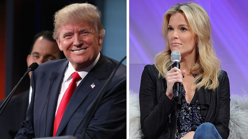 Illustration for article titled Donald Trump To Reunite With Big Fan Megyn Kelly in January GOP Debate