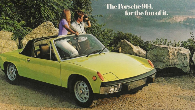 Illustration for article titled The Porsche 914: A History