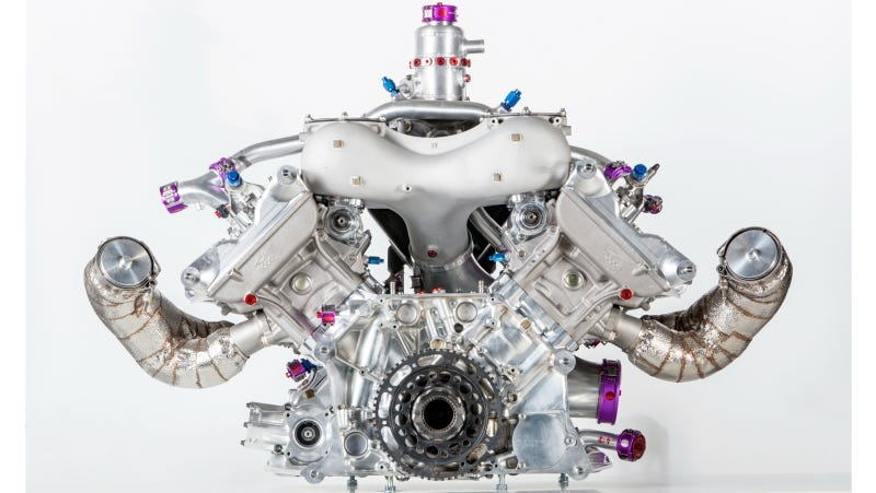 Illustration for article titled Porsche Shows Off The Little Engine That Won Le Mans