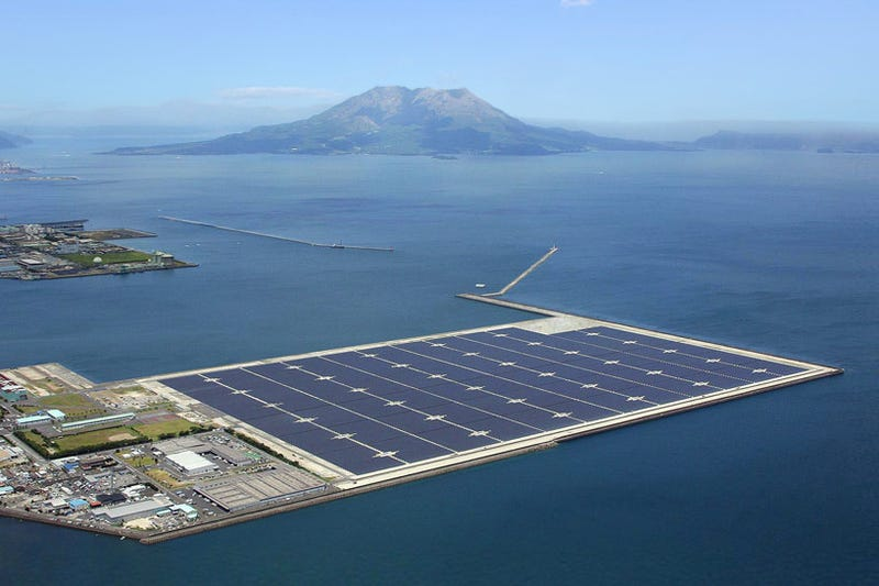 Illustration for article titled After Two Years of Nuclear Crises, Japan Opens Its Biggest Solar Park