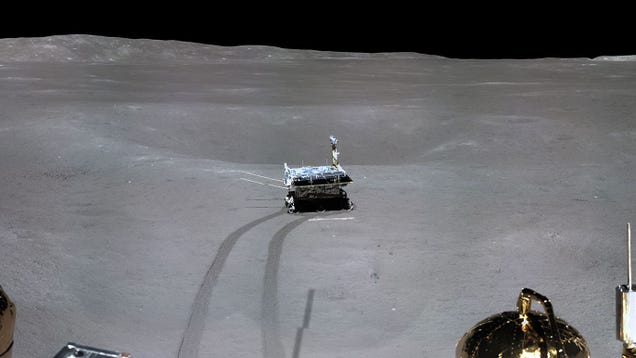 See the First Panorama of the Far Side of the Moon, Captured by China's Chang'e 4 Lander