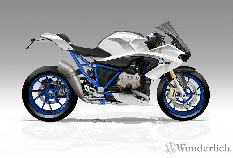 Illustration for article titled Is This What The 2016 BMW R 1200 S Will Look Like?