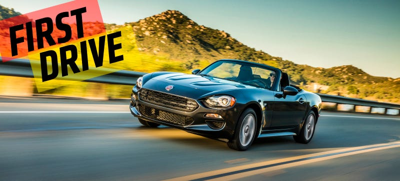 Illustration for article titled The 2017 Fiat 124 Spider Really Is Better Than The Miata