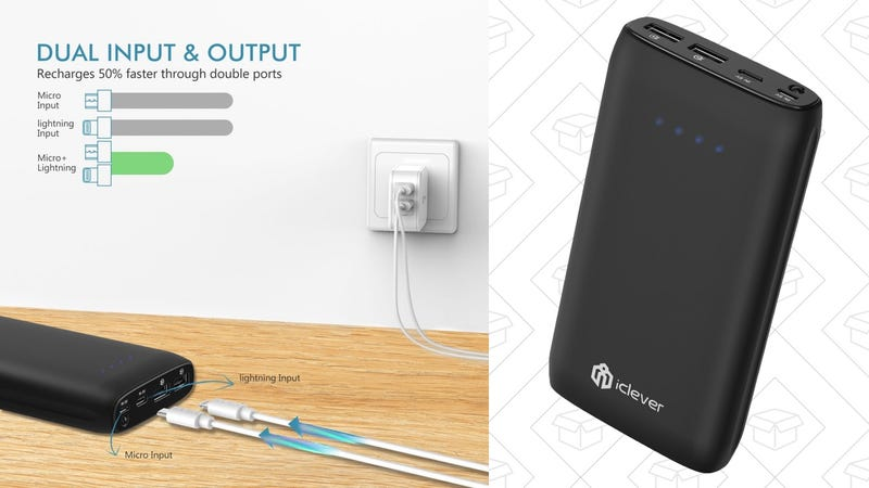 iClever BoostCell Eco 15,000mAh Battery Pack | $20 | Amazon | Promo code PPPPCCCC