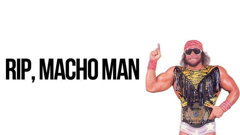 Illustration for article titled Macho Man Randy Savage Killed in Car Accident