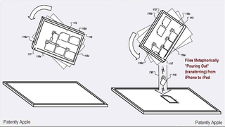 Illustration for article titled Apple Patent Shows Visual Content Sharing Between iPad and iPhone