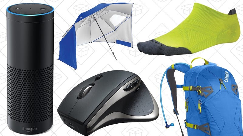 Illustration for article titled Today's Best Deals: $80 Amazon Echoes, SmartWool Socks, CamelBak Sale, and More