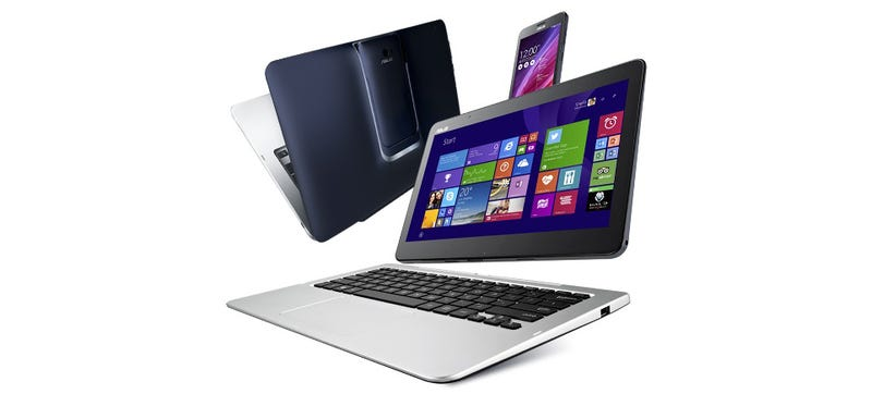 Illustration for article titled Asus Transformer Book V: A 5-in-1, Android-Windows Phone, Tablet and PC