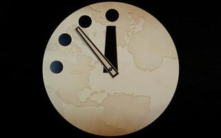 Illustration for article titled Armageddon Slightly Delayed, Say Keepers of the Doomsday Clock