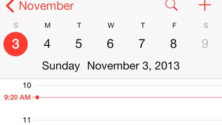 Illustration for article titled iOS 7 Daylight Saving Bug Causes Calendar to Display the Wrong Time