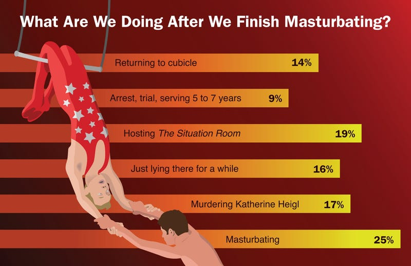Illustration for article titled What Are We Doing After We Finish Masturbating?