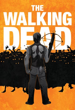 Illustration for article titled Walking Dead Prints from NinjaBot