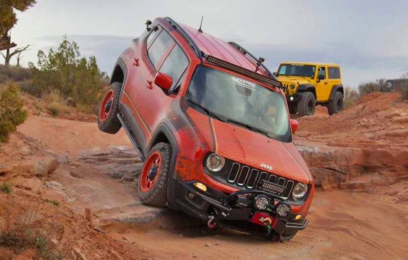 Jeep Renegade Trailhawk Lift >> This Is The Most Hardcore Jeep Renegade Yet