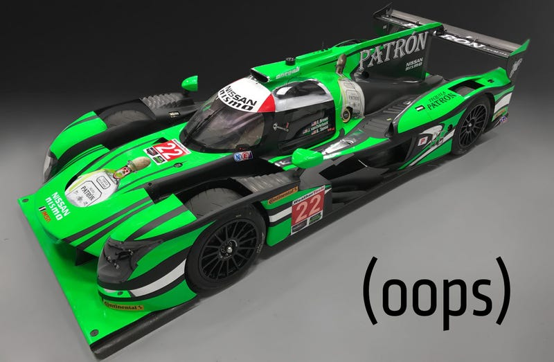 Livery render of the crashed car. Image via Extreme Speed Motorsports.