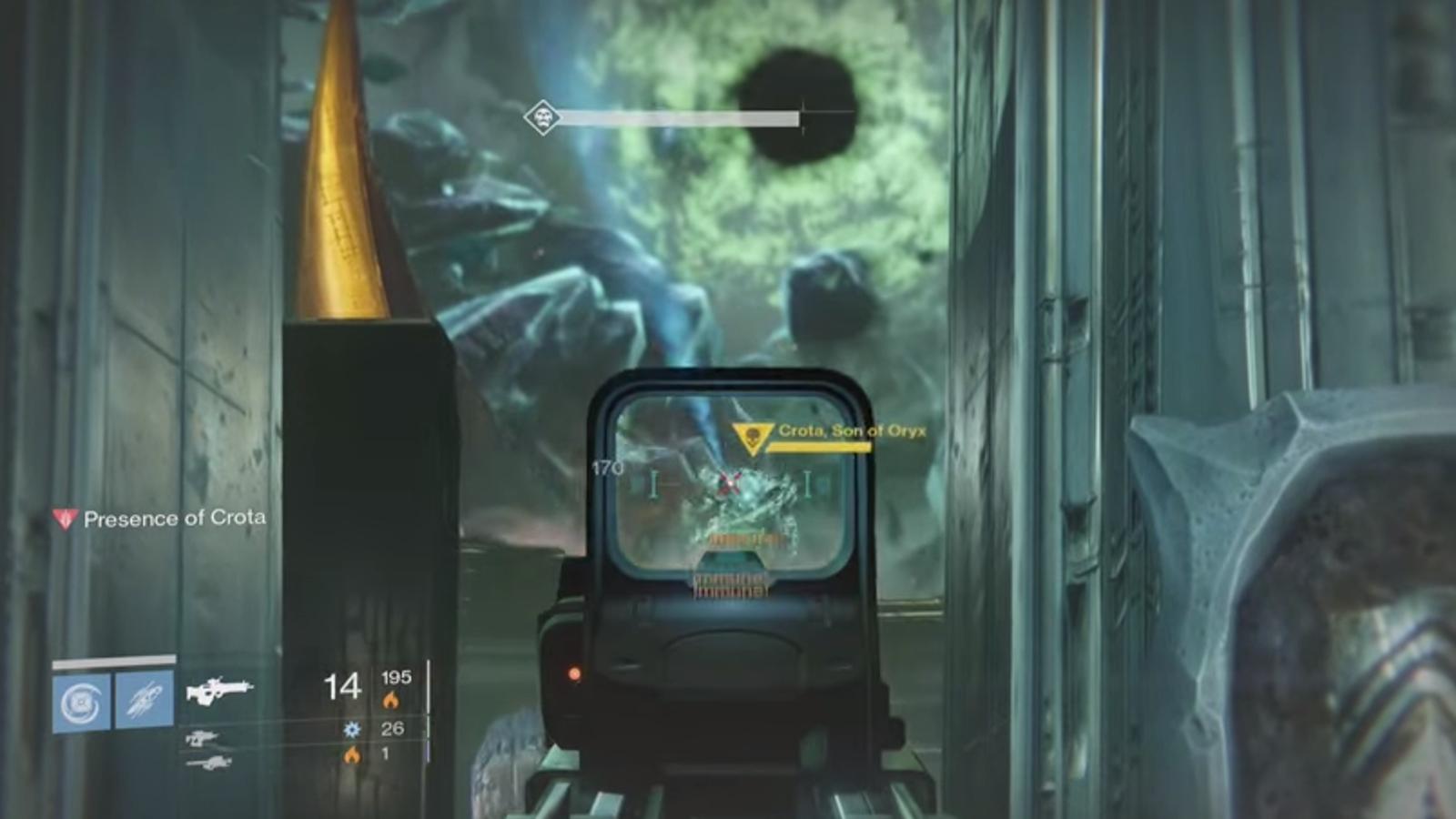 Un fallo en Destiny permite derrotar a Crota desconectando un cable