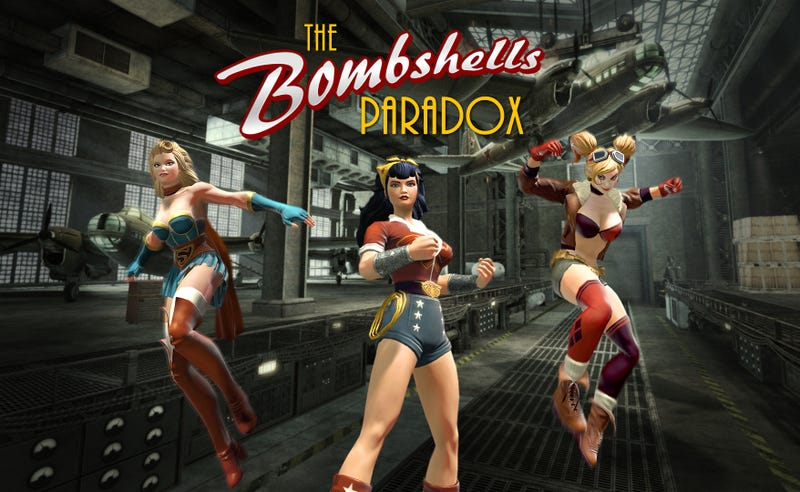 Illustration for article titled Bombshells Drop In DC Universe Online