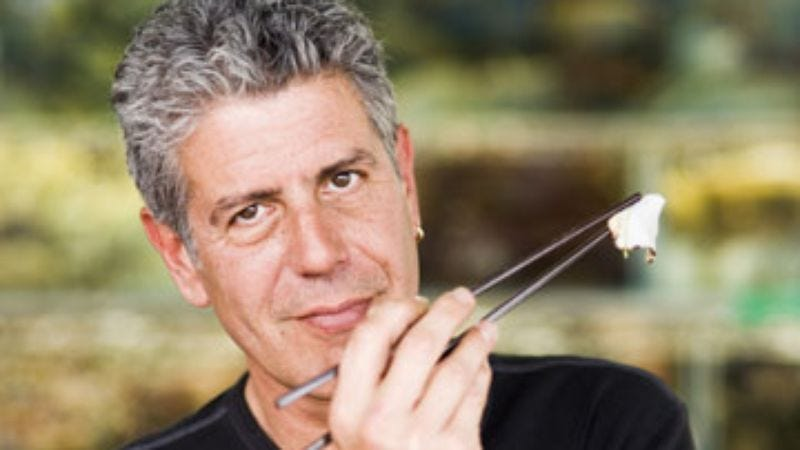 Illustration for article titled Anthony Bourdain