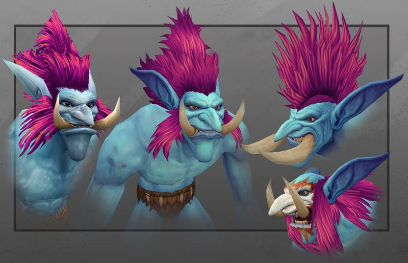 Illustration for article titled World of Warcraft Has New Trolls, And They Look Great