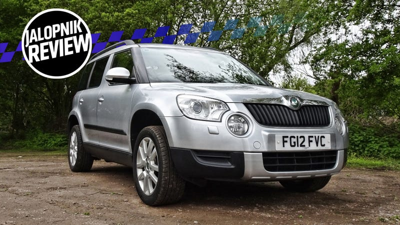 Illustration for article titled The Skoda Yeti Is Cheerful As Your Family Dog