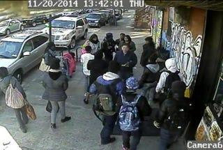 Screenshot from surveillance footageNew York Daily News