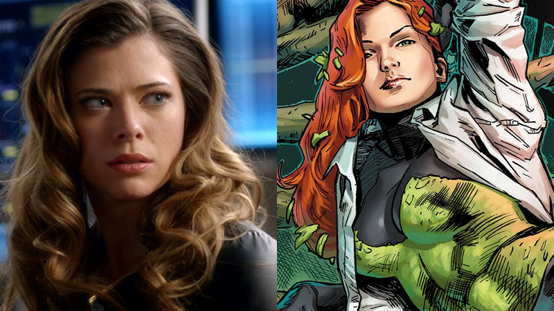 Images: The CW and DC Comics. Poison Ivy: The Cycle of Life and Death art by Clay Mann.