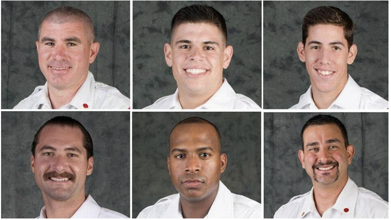 Top, from left: William Bryson, Kevin Meizoso and David Rivera. Bottom, from left: Justin Rumbaugh, Harold Santana and Alejandro Sese. (City of Miami)