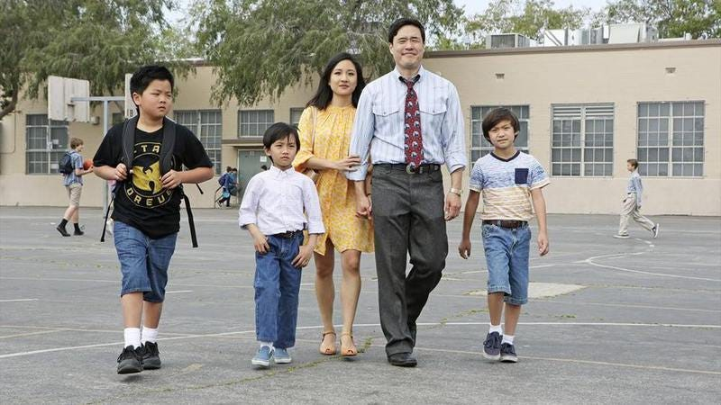 The cast of Fresh Off The Boat