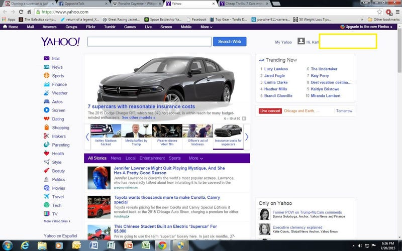 Illustration for article titled Yahoo Auto: You is Stoopid
