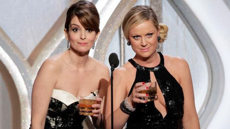 Illustration for article titled Amy Poehler and Tina Fey are done with hosting the Golden Globes after January