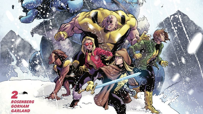 Illustration for article titled The New Mutants investigate an Arctic attack in this exclusive preview