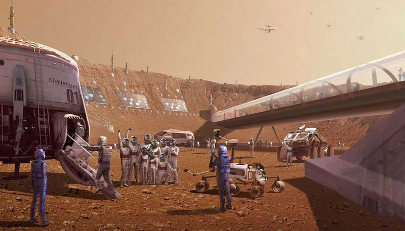 Illustration for article titled The Concept Art for Las Vegas' 'Mars World' Looks Nuts