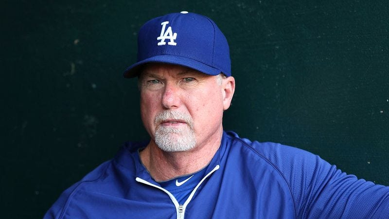 Illustration for article titled Mark McGwire Confident He Could Still Disgrace Game At High Level Today