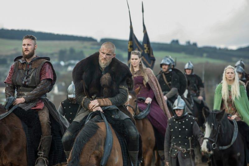 Jordan Patrick Smith as Ubbe, Alexander Ludwig as Bjorn, Ragga Ragnars as Gunnhild, Georgia Hirst as Torvi