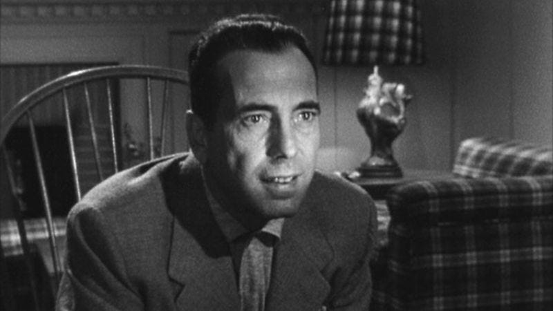 Illustration for article titled Bogart goes boldly unhinged in the essential noir In A Lonely Place