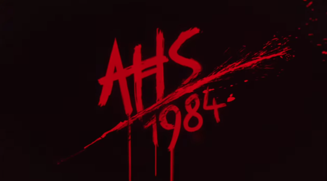 The American Horror Story 1984 credits are a gaudy, gorgeous VHS fever dream
