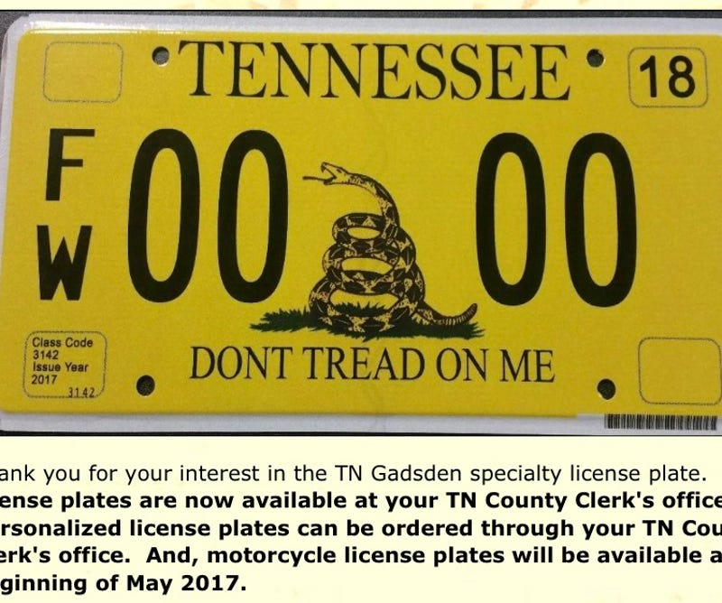 Amazing Tn License Plates Pictures Inspiration - Classic Cars ...