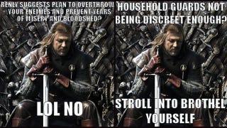 Illustration for article titled The best Game Of Thrones internet meme yet: Stupid Ned Stark