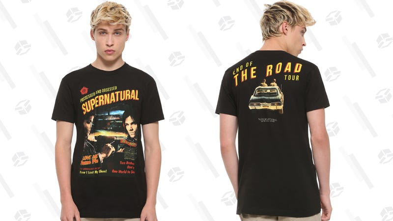 Supernatural Day End of the Road Shirt