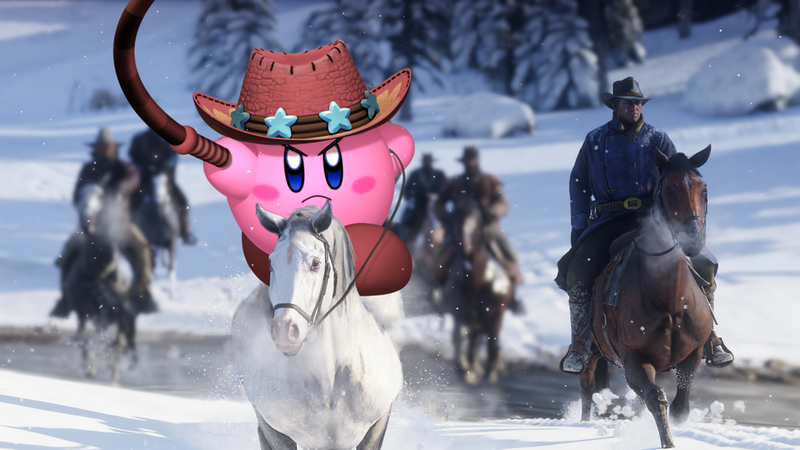 A dozen Kirby games have come out since the last Red Dead Redemption.