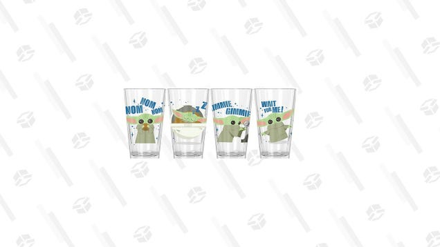 Pour One out for The Mandalorian, Just as Long as You Use These $10 Grogu Glasses