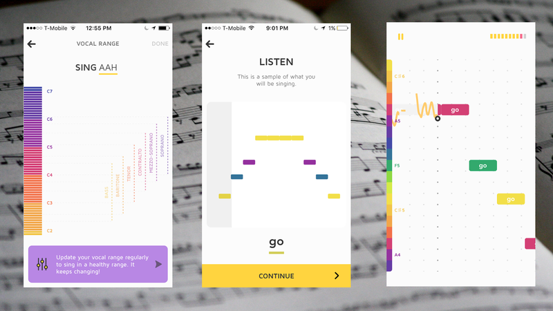 Train Your Voice With This Singing App