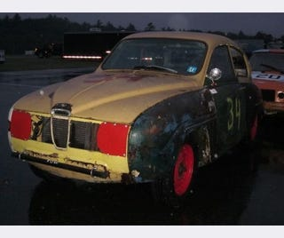 Illustration for article titled Saab 96, Fiat 131, Buick Regal Set Effluency Bar High at New England LeMons BS Inspection