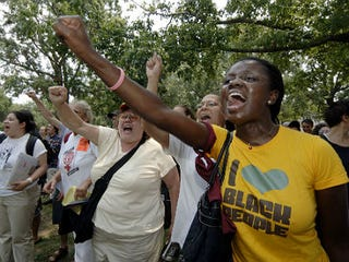 Protestors in Mississippi (Marianne Todd/Getty Images)